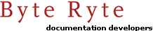 Byte Ryte Documentation Developers